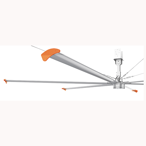 The Permanent Magnet Frequency Conversion Large Ceiling Fan