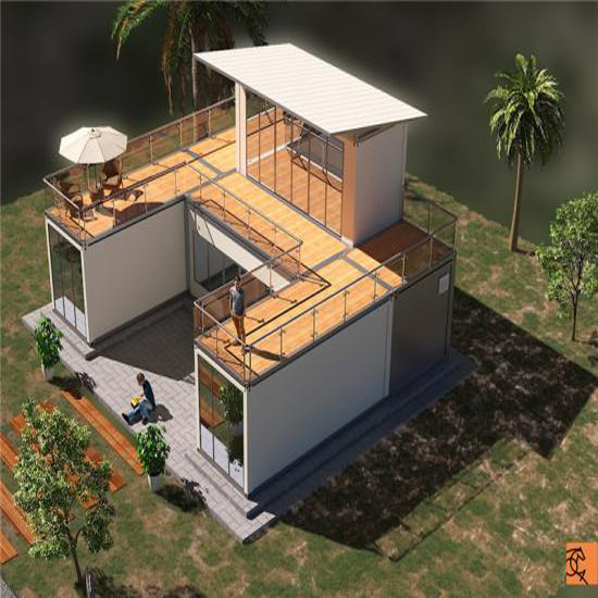 CONTAINER HOUSE FOR VILLA