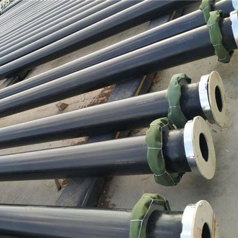Sand suction dredge rubber self-floating hose pipe