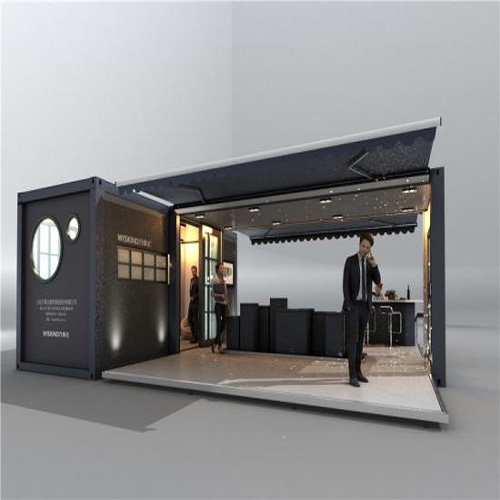 Modular Container House For Multiple Display