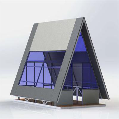 Prefabricated Triangle House For Resort