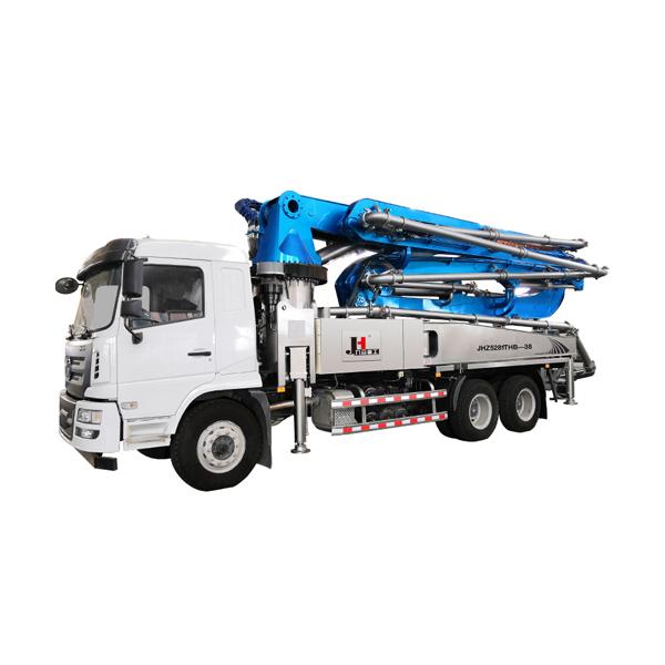 30m 38m 48m 52m 56m 63m 70m concrete pump truck