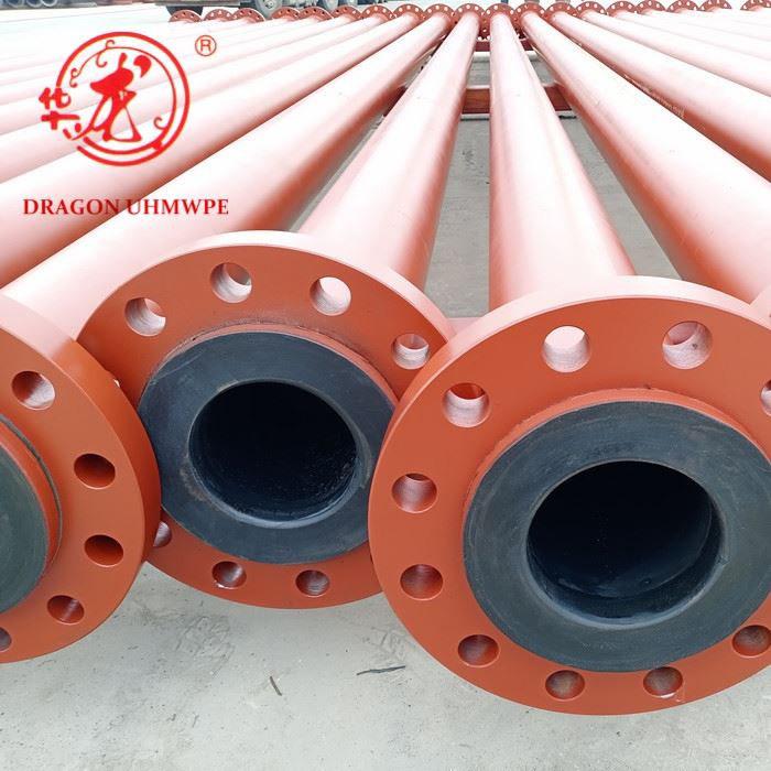 Wear-resistant steel-plastic composite slurry hose for mining industry