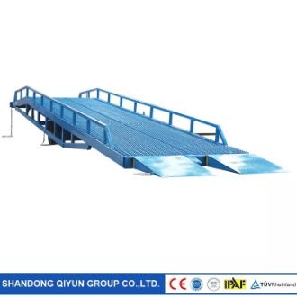 Hydraulic dock rampleveler