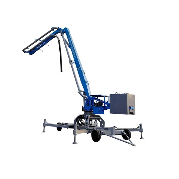 HGY15 17 Hydraulic Wheel Concrete Placing boom