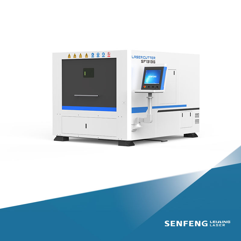 Full-cover, Small area occupied laser cutting machine SF1313G