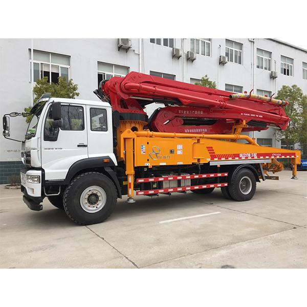 Conele 37m pump truck