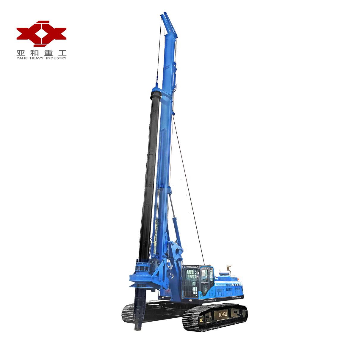 50m kelly bar rotary drilling rig