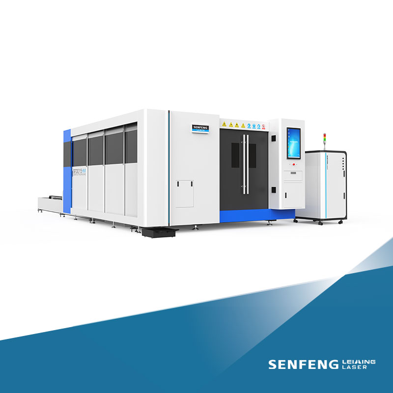 Full protection metal tube and plate laser cutting machine SF3015HM