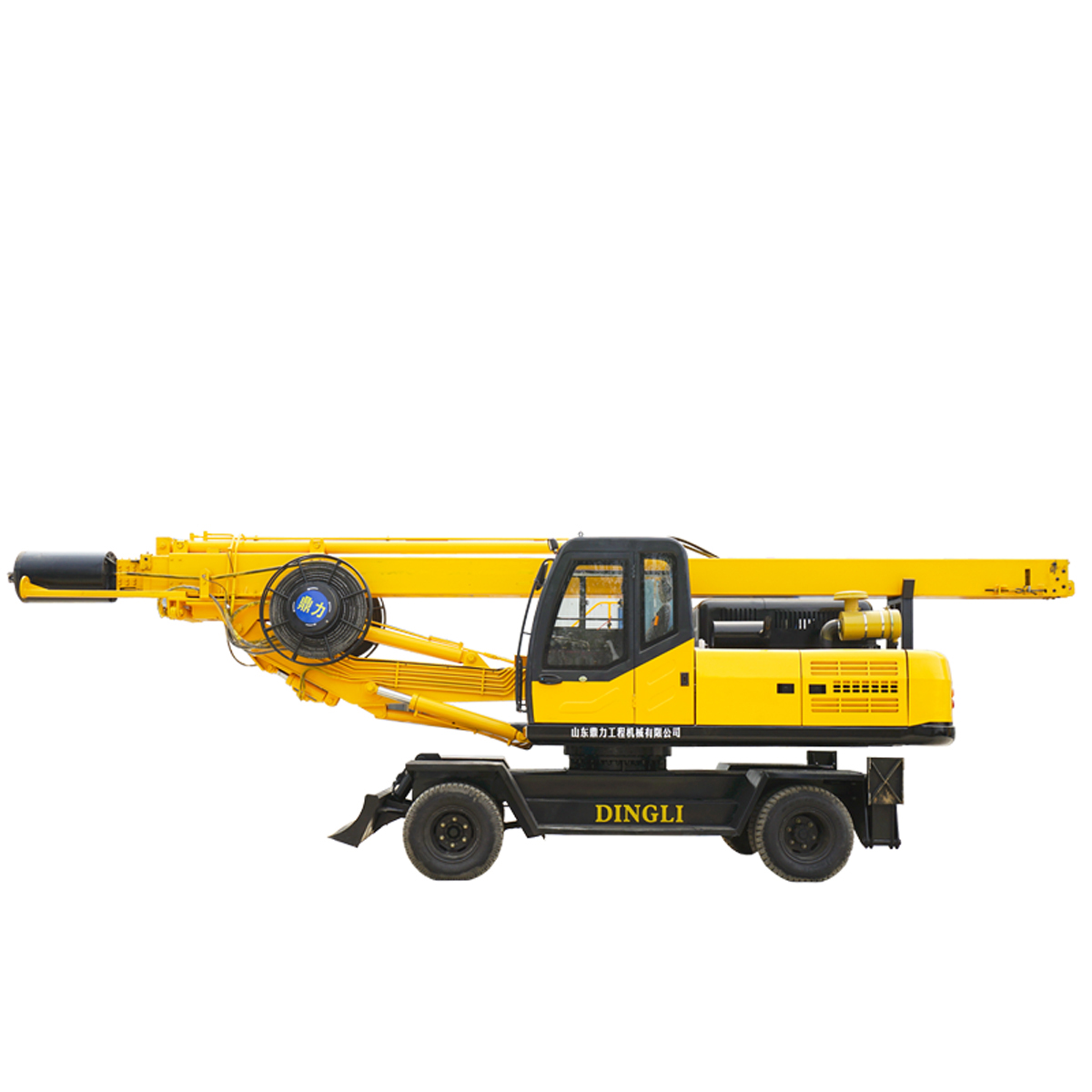 20m wheeled  square rod rotary drilling rig