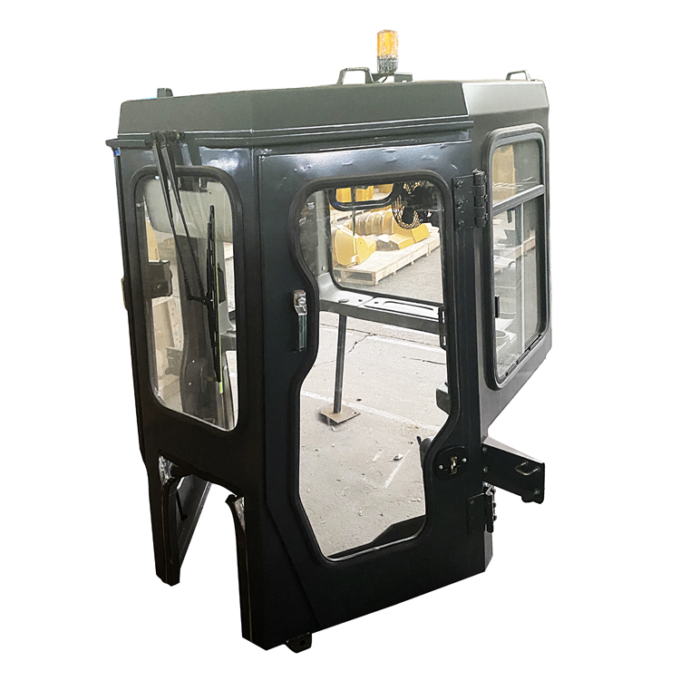 bulldozer driver cab assembly