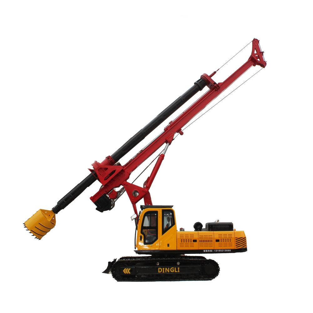 30m kelly bar rotary drilling rig