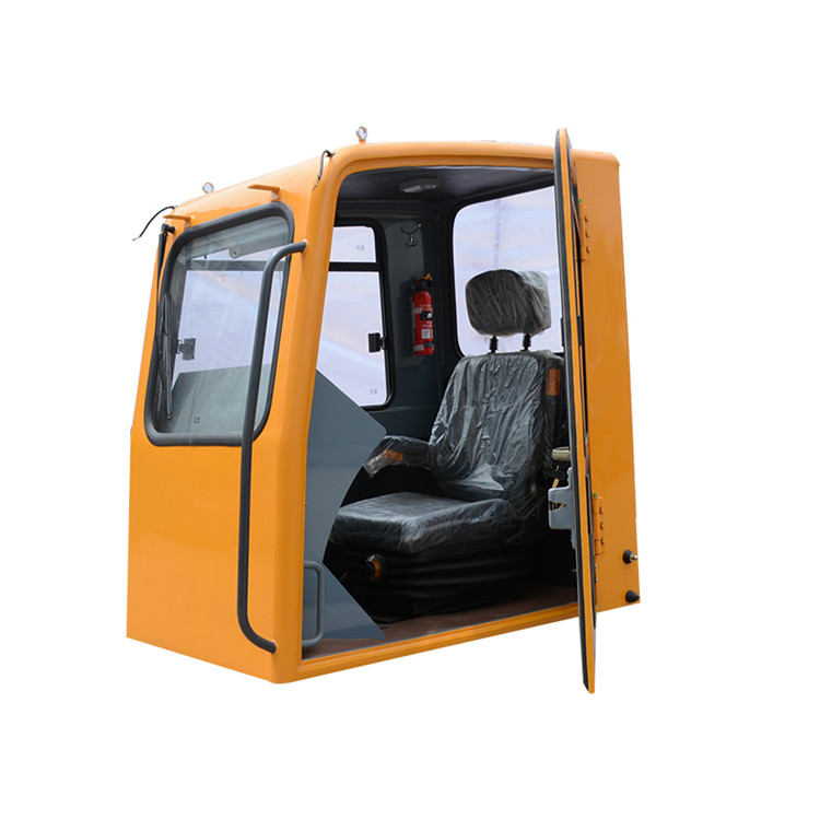 Excavator cabin Assembly