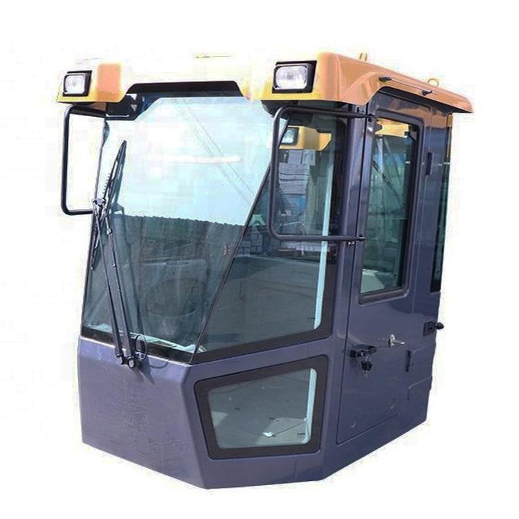 backhoe loader cabin assembly