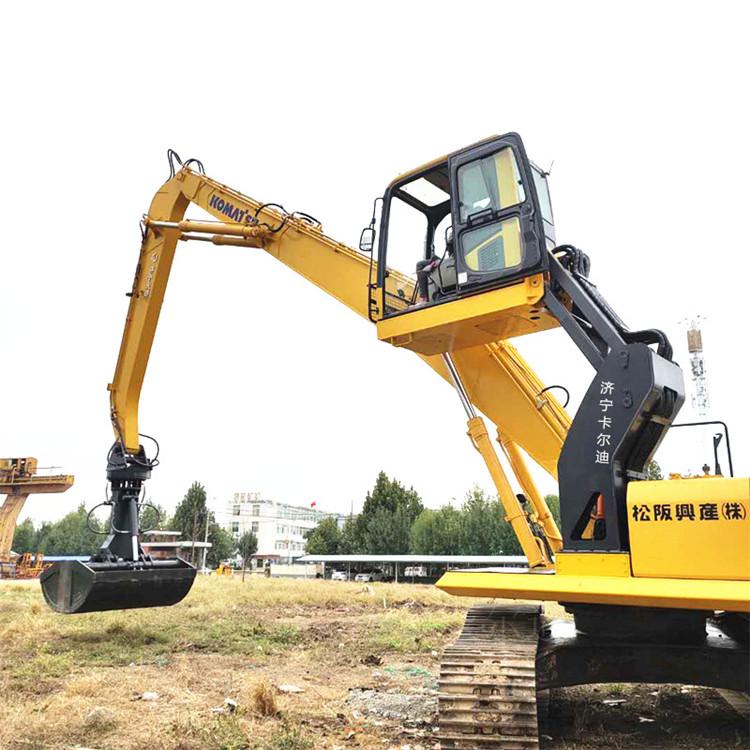 挖掘机改装升降驾驶室
